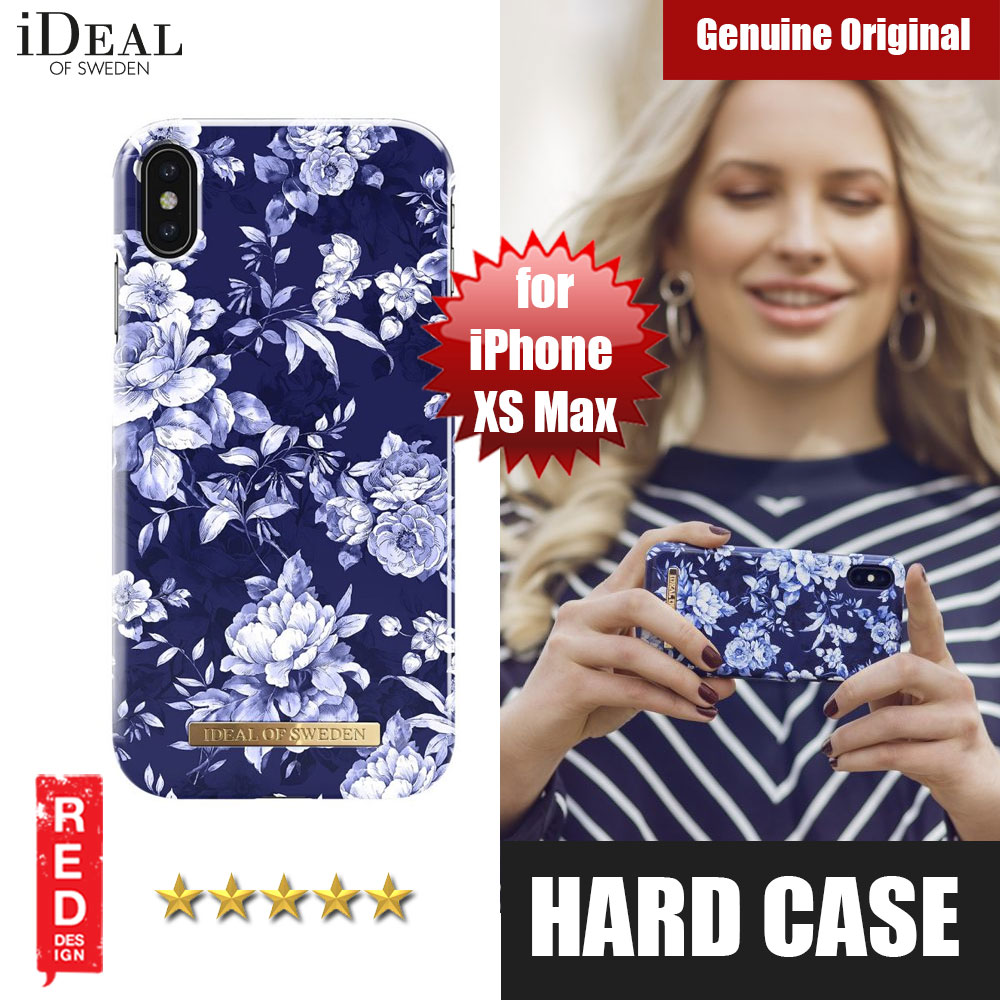 Picture of iDeal of Sweden Fashion Hard Cover Back Case for Apple iPhone XS Max (Sailor Blue Bloom) Apple iPhone XS Max- Apple iPhone XS Max Cases, Apple iPhone XS Max Covers, iPad Cases and a wide selection of Apple iPhone XS Max Accessories in Malaysia, Sabah, Sarawak and Singapore