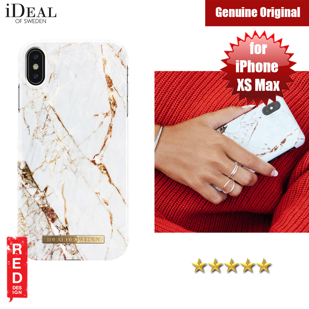 Picture of iDeal of Sweden Fashion Hard Cover Back Case for Apple iPhone XS Max (Carrara Gold) Apple iPhone XS Max- Apple iPhone XS Max Cases, Apple iPhone XS Max Covers, iPad Cases and a wide selection of Apple iPhone XS Max Accessories in Malaysia, Sabah, Sarawak and Singapore