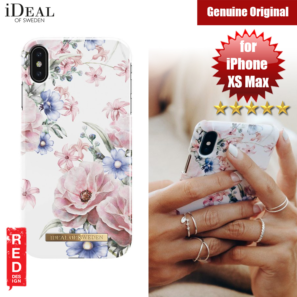 Picture of iDeal of Sweden Fashion Hard Cover Back Case for Apple iPhone XS Max (FLORAL ROMANCE) Apple iPhone XS Max- Apple iPhone XS Max Cases, Apple iPhone XS Max Covers, iPad Cases and a wide selection of Apple iPhone XS Max Accessories in Malaysia, Sabah, Sarawak and Singapore