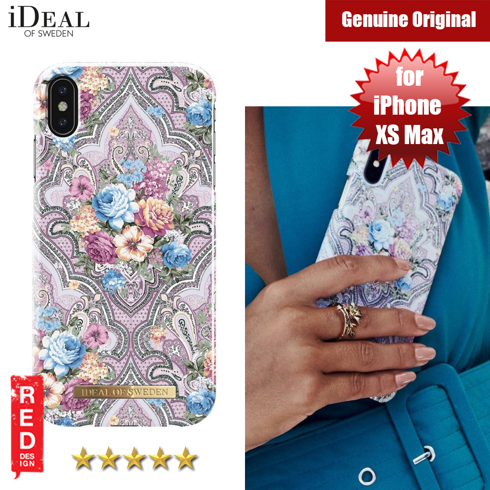 Picture of iDeal of Sweden Fashion Hard Cover Back Case for Apple iPhone XS Max (ROMANTIC PAISLEY) Apple iPhone XS Max- Apple iPhone XS Max Cases, Apple iPhone XS Max Covers, iPad Cases and a wide selection of Apple iPhone XS Max Accessories in Malaysia, Sabah, Sarawak and Singapore