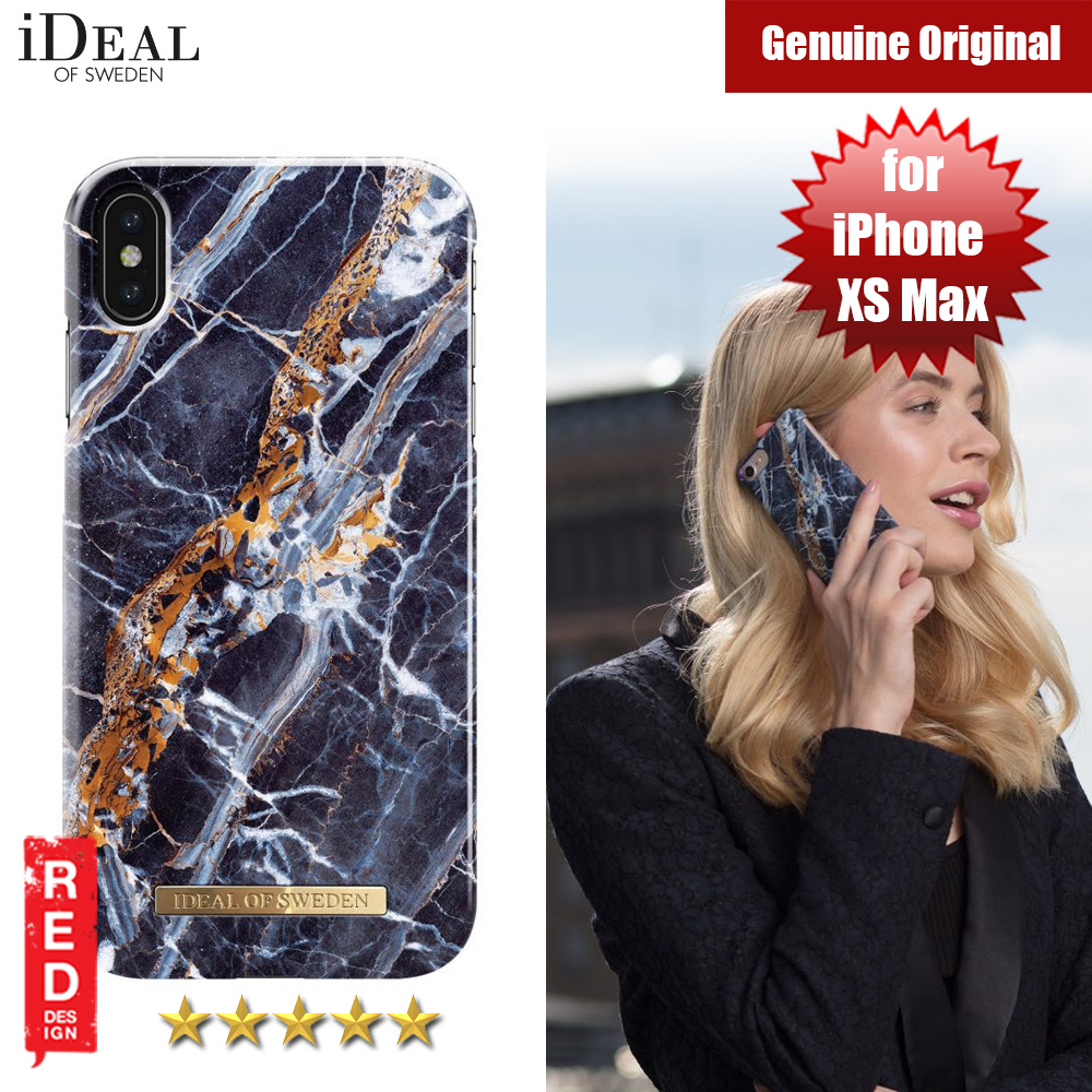 Picture of iDeal of Sweden Fashion Hard Cover Back Case for Apple iPhone XS Max (MIDNIGHT BLUE MARBLE) Apple iPhone XS Max- Apple iPhone XS Max Cases, Apple iPhone XS Max Covers, iPad Cases and a wide selection of Apple iPhone XS Max Accessories in Malaysia, Sabah, Sarawak and Singapore