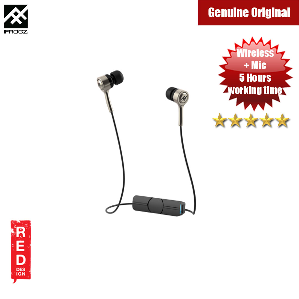Picture of iFrogz Coda Wireless Earphone Earbuds (Gold) Red Design- Red Design Cases, Red Design Covers, iPad Cases and a wide selection of Red Design Accessories in Malaysia, Sabah, Sarawak and Singapore