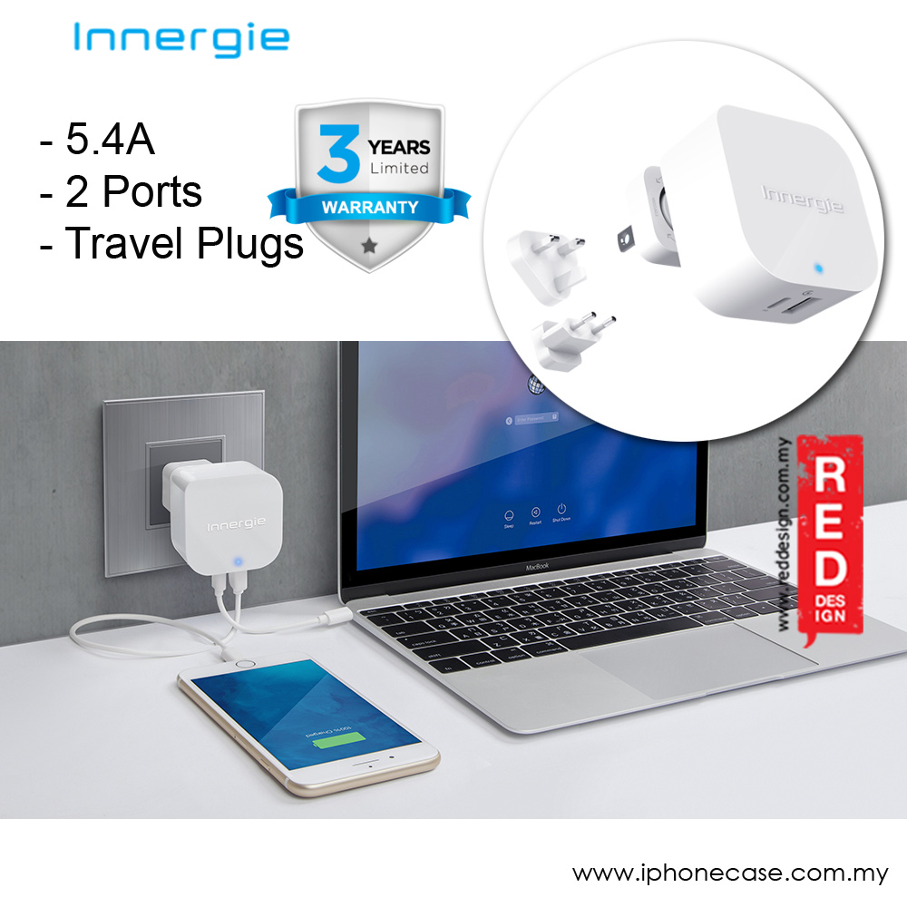 Picture of Innergie PowerJoy 30C USB-C Wall Charger Compatible with Smartphone Macbook
