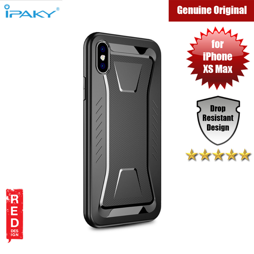 Picture of iPaky Armor Shock Proof Soft Case for Apple iPhone XS Max (Black) Apple iPhone XS Max- Apple iPhone XS Max Cases, Apple iPhone XS Max Covers, iPad Cases and a wide selection of Apple iPhone XS Max Accessories in Malaysia, Sabah, Sarawak and Singapore