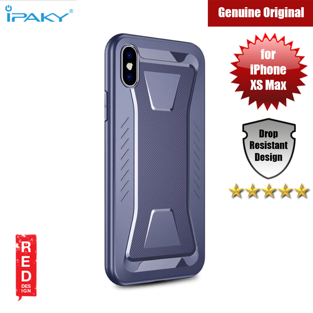Picture of iPaky Armor Shock Proof Soft Case for Apple iPhone XS Max (Midnight Blue) Apple iPhone XS Max- Apple iPhone XS Max Cases, Apple iPhone XS Max Covers, iPad Cases and a wide selection of Apple iPhone XS Max Accessories in Malaysia, Sabah, Sarawak and Singapore