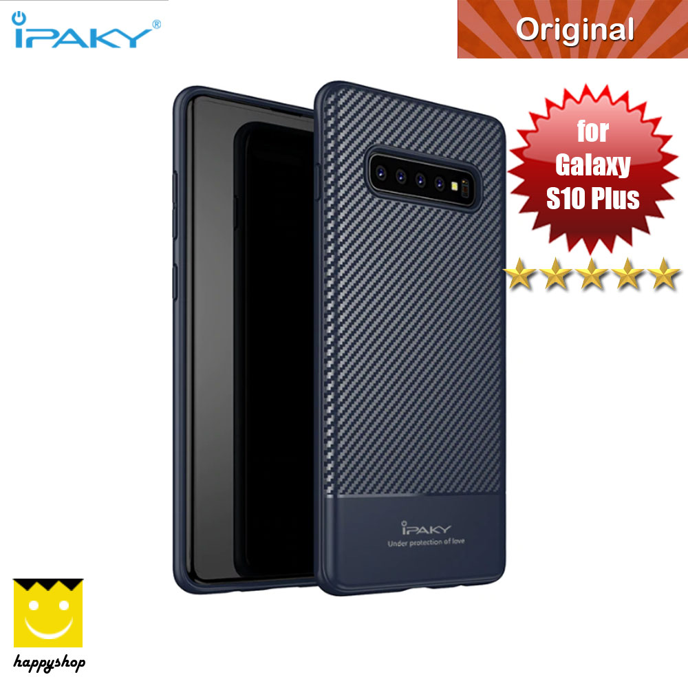 Picture of iPaky Luxury Carbon Fiber Texture Silicone Shock Proof Case for Samsung Galaxy S10 Plus (Midnight Blue) Samsung Galaxy S10 Plus- Samsung Galaxy S10 Plus Cases, Samsung Galaxy S10 Plus Covers, iPad Cases and a wide selection of Samsung Galaxy S10 Plus Accessories in Malaysia, Sabah, Sarawak and Singapore