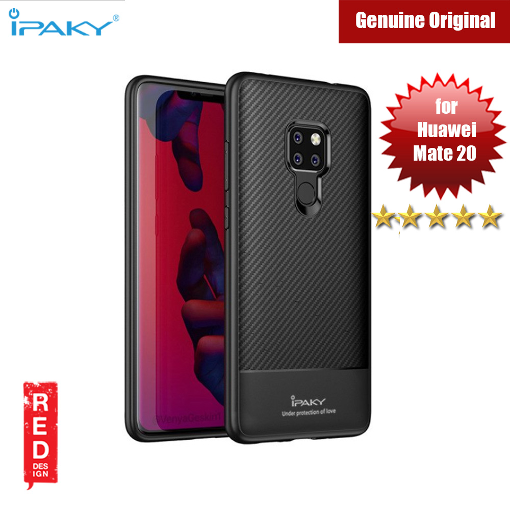 Picture of iPaky Luxury Carbon Fiber Texture Silicone Shock Proof Case for Huawei Mate 20 (Black) Huawei Mate 20- Huawei Mate 20 Cases, Huawei Mate 20 Covers, iPad Cases and a wide selection of Huawei Mate 20 Accessories in Malaysia, Sabah, Sarawak and Singapore