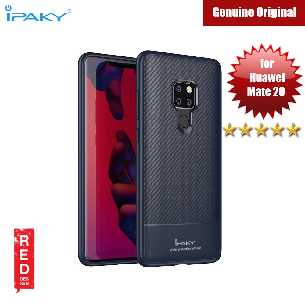 Picture of iPaky Luxury Carbon Fiber Texture Silicone Shock Proof Case for Huawei Mate 20 (Blue) Huawei Mate 20- Huawei Mate 20 Cases, Huawei Mate 20 Covers, iPad Cases and a wide selection of Huawei Mate 20 Accessories in Malaysia, Sabah, Sarawak and Singapore