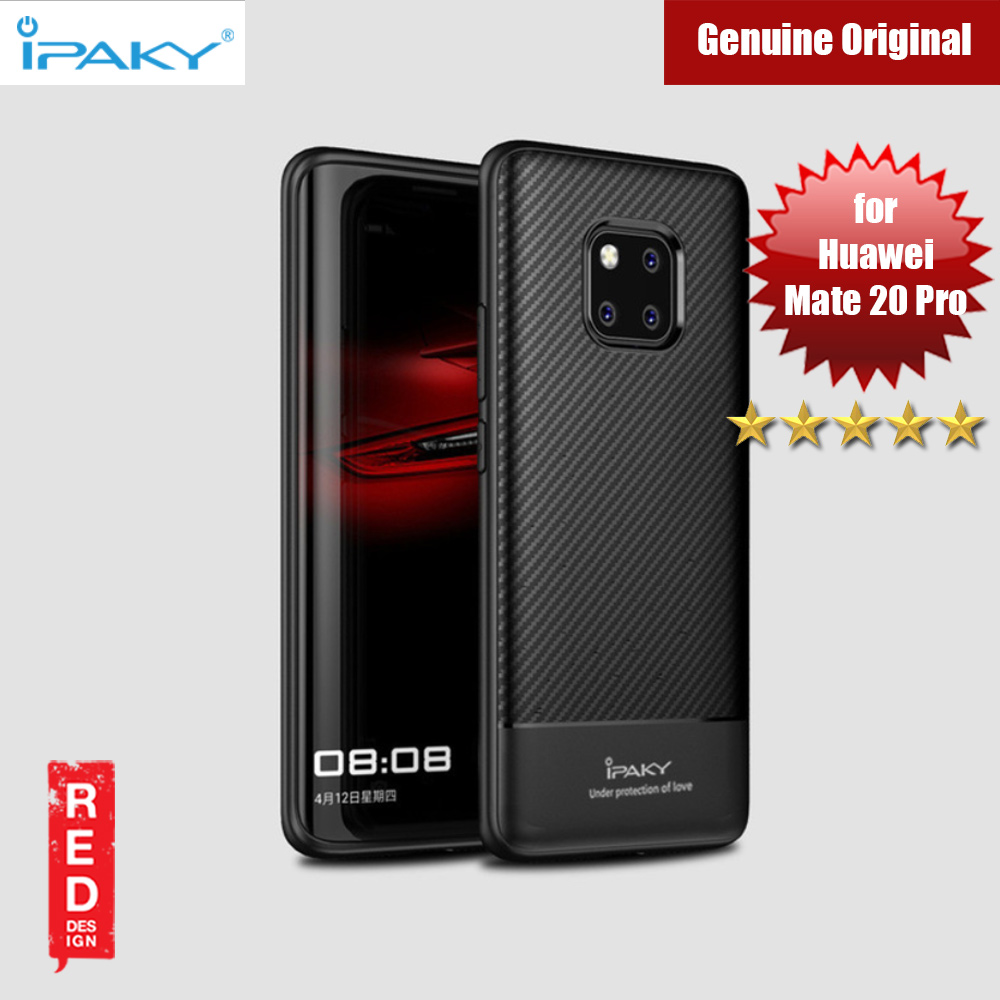 Picture of iPaky Luxury Carbon Fiber Texture Silicone Shock Proof Case for Huawei Mate 20 Pro (Black) Huawei Mate 20 Pro- Huawei Mate 20 Pro Cases, Huawei Mate 20 Pro Covers, iPad Cases and a wide selection of Huawei Mate 20 Pro Accessories in Malaysia, Sabah, Sarawak and Singapore