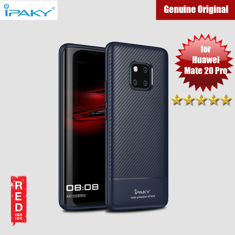 Picture of iPaky Luxury Carbon Fiber Texture Silicone Shock Proof Case for Huawei Mate 20 Pro (Midnight Blue) Huawei Mate 20 Pro- Huawei Mate 20 Pro Cases, Huawei Mate 20 Pro Covers, iPad Cases and a wide selection of Huawei Mate 20 Pro Accessories in Malaysia, Sabah, Sarawak and Singapore
