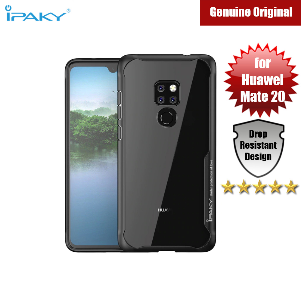 Picture of iPaky Anti knock Shockproof Protective Cover For Huawei Mate 20 (Black) Huawei Mate 20- Huawei Mate 20 Cases, Huawei Mate 20 Covers, iPad Cases and a wide selection of Huawei Mate 20 Accessories in Malaysia, Sabah, Sarawak and Singapore
