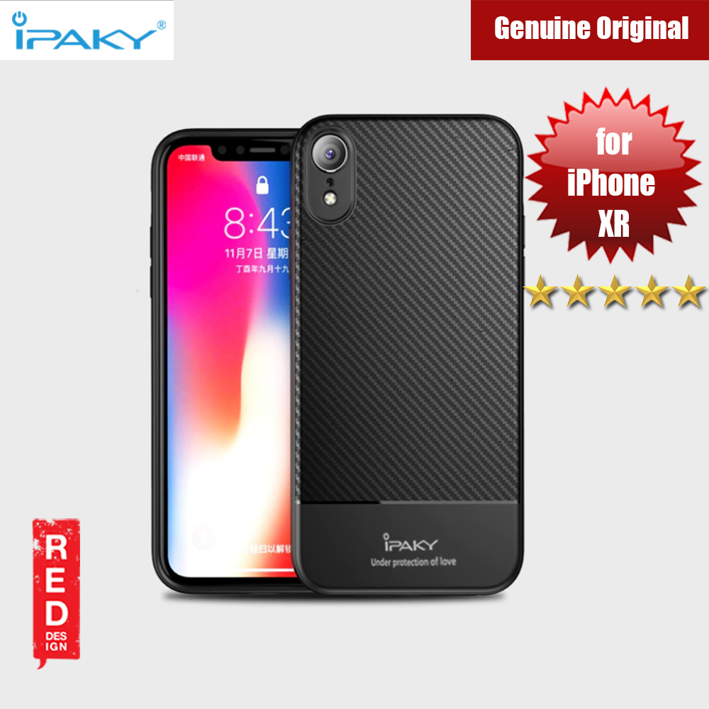 Picture of iPaky Luxury Carbon Fiber Texture Silicone Shock Proof Case for Apple iPhone XR (Black) Apple iPhone XR- Apple iPhone XR Cases, Apple iPhone XR Covers, iPad Cases and a wide selection of Apple iPhone XR Accessories in Malaysia, Sabah, Sarawak and Singapore