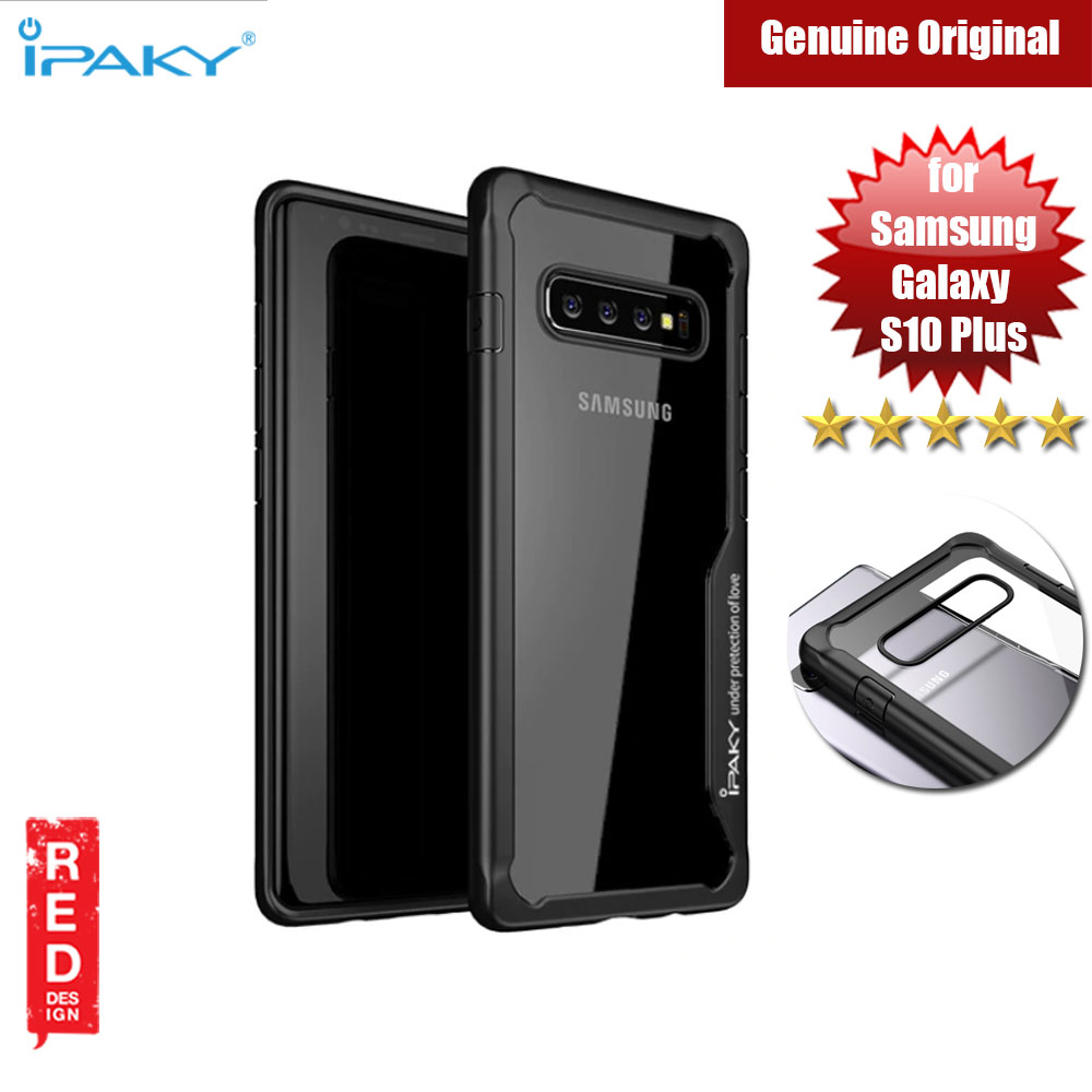 Picture of iPaky Anti knock Shockproof Protective Cover For Samsung Galaxy S10 Plus (Black) Samsung Galaxy S10 Plus- Samsung Galaxy S10 Plus Cases, Samsung Galaxy S10 Plus Covers, iPad Cases and a wide selection of Samsung Galaxy S10 Plus Accessories in Malaysia, Sabah, Sarawak and Singapore