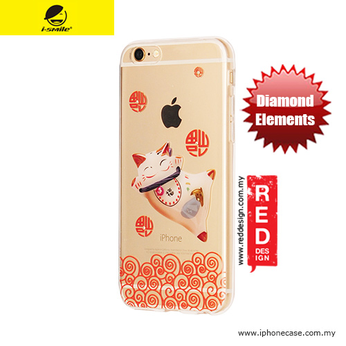Picture of Apple iPhone 6 4.7 Case | iSmile Diamond Series Soft TPU Case for iPhone 6 iPhone 6S 4.7 - Lucky Cat Fortune