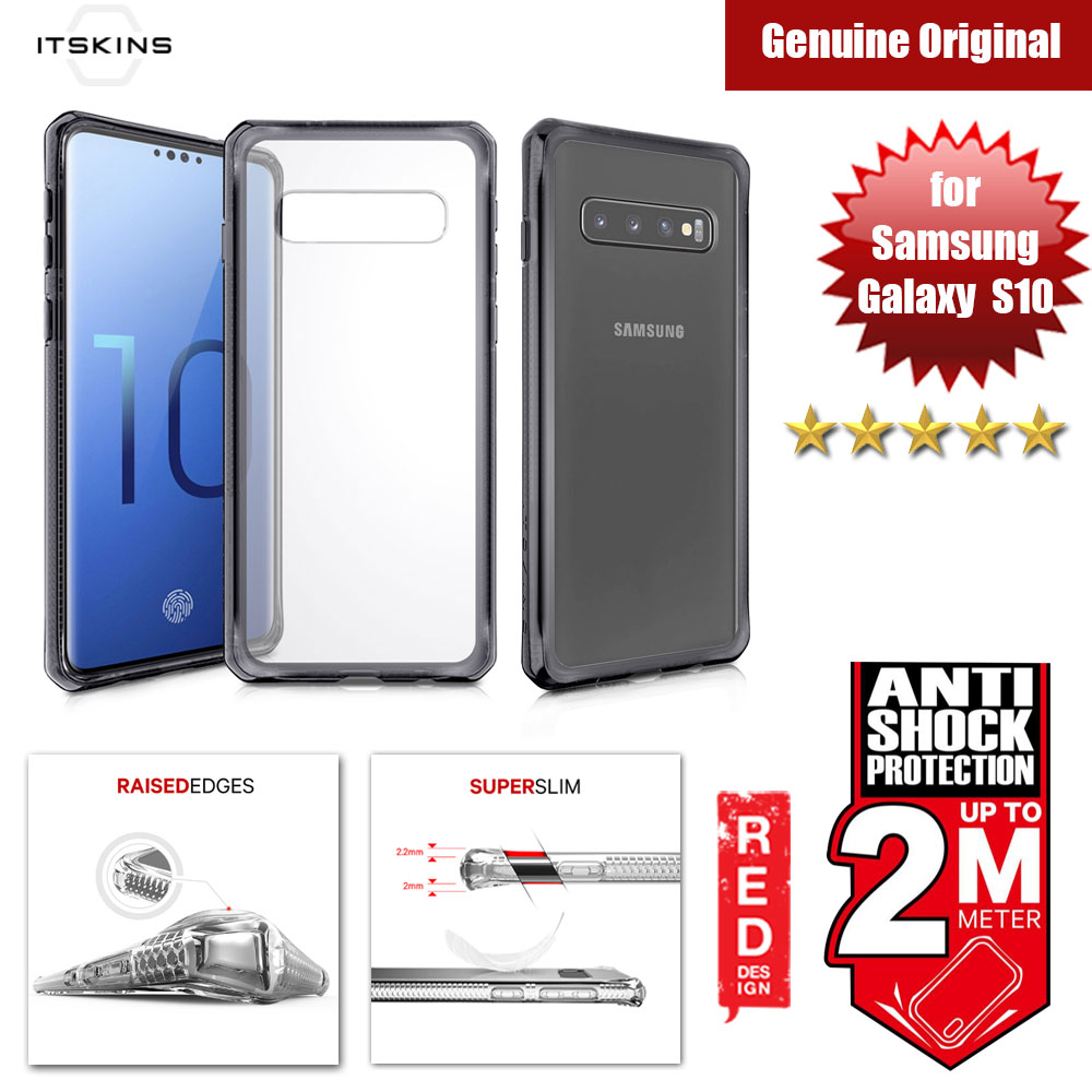 Picture of ITSKINS HybridClear Protection Case for Samsung Galaxy S10 (Black) Samsung Galaxy S10- Samsung Galaxy S10 Cases, Samsung Galaxy S10 Covers, iPad Cases and a wide selection of Samsung Galaxy S10 Accessories in Malaysia, Sabah, Sarawak and Singapore