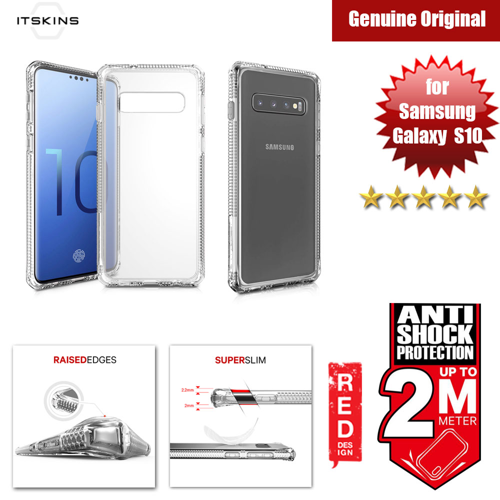 Picture of ITSKINS HybridClear Protection Case for Samsung Galaxy S10 (Clear) Samsung Galaxy S10- Samsung Galaxy S10 Cases, Samsung Galaxy S10 Covers, iPad Cases and a wide selection of Samsung Galaxy S10 Accessories in Malaysia, Sabah, Sarawak and Singapore