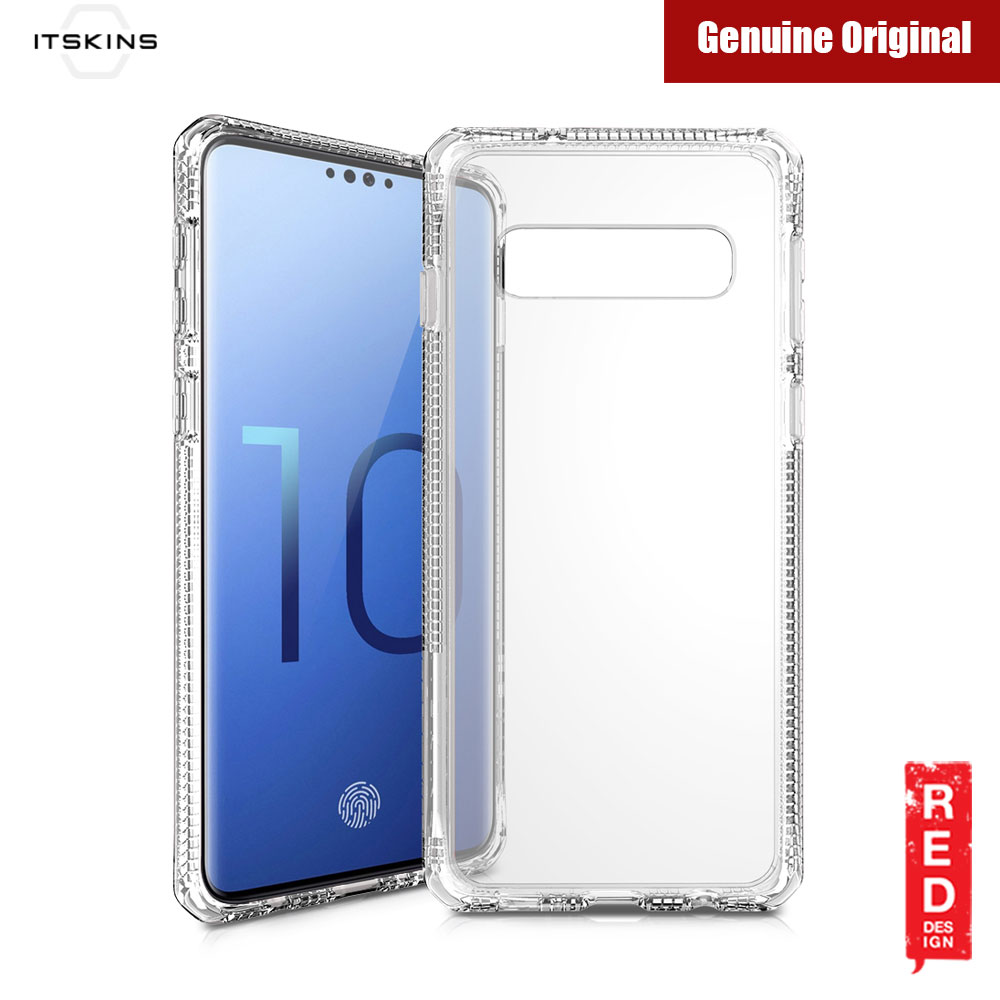 Picture of Samsung Galaxy S10 Case | ITSKINS HybridClear Protection Case for Samsung Galaxy S10 (Clear)