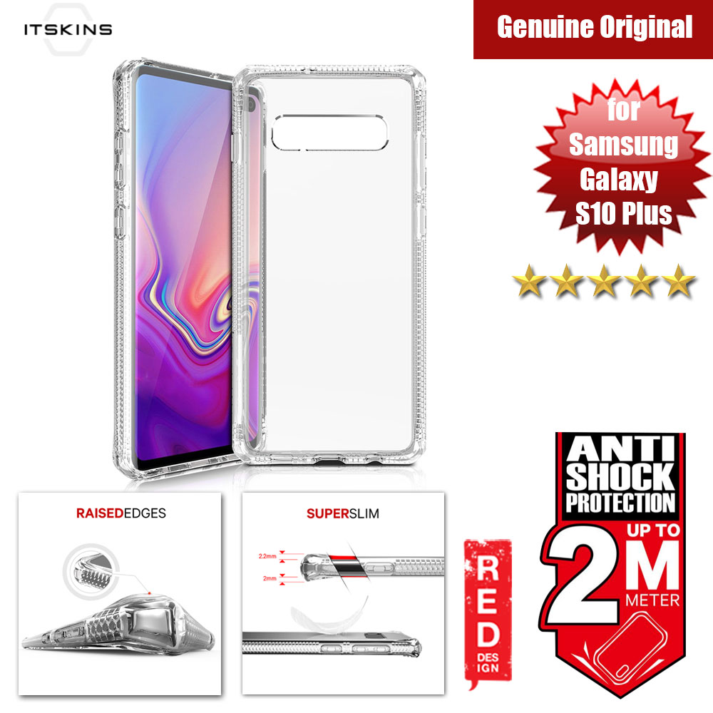 Picture of ITSKINS HybridClear Protection Case for Samsung Galaxy S10 Plus (Clear) Samsung Galaxy S10 Plus- Samsung Galaxy S10 Plus Cases, Samsung Galaxy S10 Plus Covers, iPad Cases and a wide selection of Samsung Galaxy S10 Plus Accessories in Malaysia, Sabah, Sarawak and Singapore