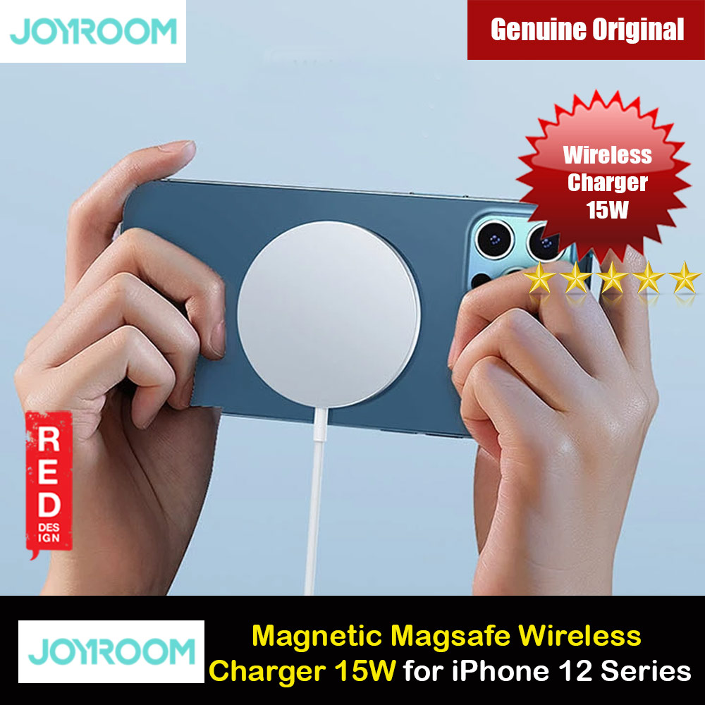 Picture of Joyroom 15W CE FCC Magnetic Magsafe Fast Portable Wireless Charger 15W For Iphone 12 iPhone 12 Pro Max Series Charger Wireless Charger Even with Phone Case Apple iPhone 12 mini 5.4- Apple iPhone 12 mini 5.4 Cases, Apple iPhone 12 mini 5.4 Covers, iPad Cases and a wide selection of Apple iPhone 12 mini 5.4 Accessories in Malaysia, Sabah, Sarawak and Singapore