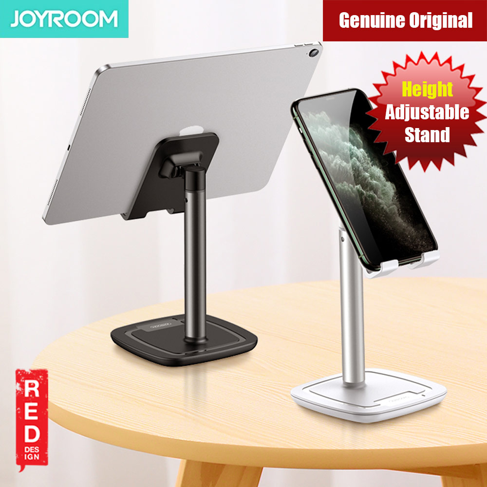 Picture of Joyroom Aluminum and ABS Desktop Phone iPad Tablet Holder Stand (White) Red Design- Red Design Cases, Red Design Covers, iPad Cases and a wide selection of Red Design Accessories in Malaysia, Sabah, Sarawak and Singapore