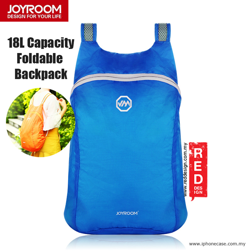 Picture of Joyroom Outdoor 18L Capacity Fodable Mini Backpack - Blue Red Design- Red Design Cases, Red Design Covers, iPad Cases and a wide selection of Red Design Accessories in Malaysia, Sabah, Sarawak and Singapore