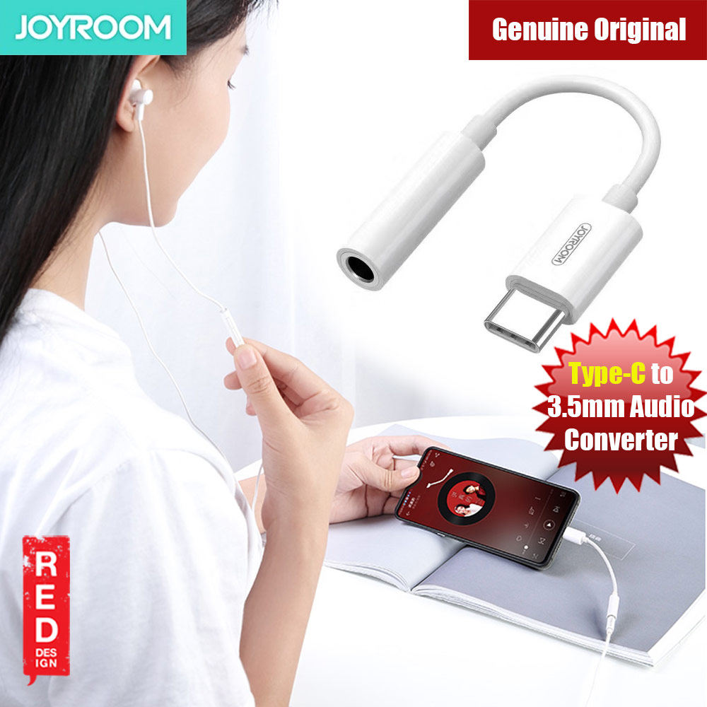 Picture of Joyroom USB-C™ to 3.5 mm Headphone Jack Adapter for Google Pixel 2 3 XL Samsung Huawei P30 Pro Mate 20 Pro OnePlus HTC Xiaomi for Galaxy S10+ Note 10 Note 10+ iPad Pro 11 12.9 Xiao M Red Design- Red Design Cases, Red Design Covers, iPad Cases and a wide selection of Red Design Accessories in Malaysia, Sabah, Sarawak and Singapore
