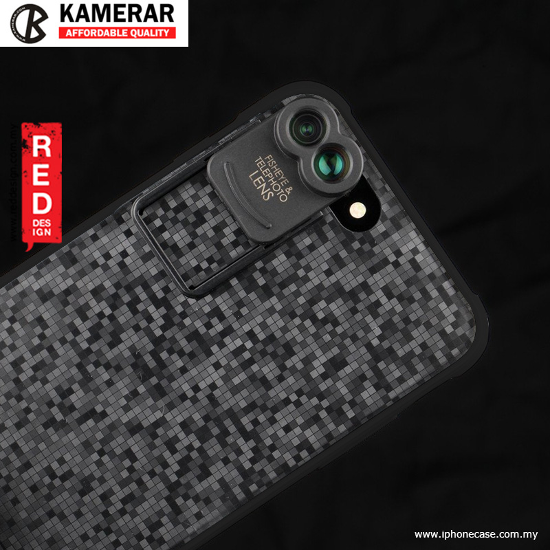 Picture of Apple iPhone 8 Plus  | KAMERAR ZOOM Lens Kit for iPhone 7 Plus iPhone 8 Plus 5.5 - Black