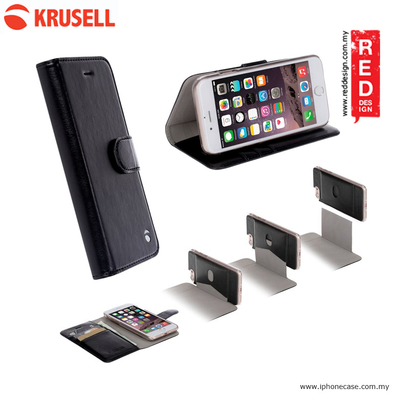Picture of Krusell Ekero FolioWallet 2in1 Case for Apple iPhone 7 - Black Apple iPhone 8- Apple iPhone 8 Cases, Apple iPhone 8 Covers, iPad Cases and a wide selection of Apple iPhone 8 Accessories in Malaysia, Sabah, Sarawak and Singapore