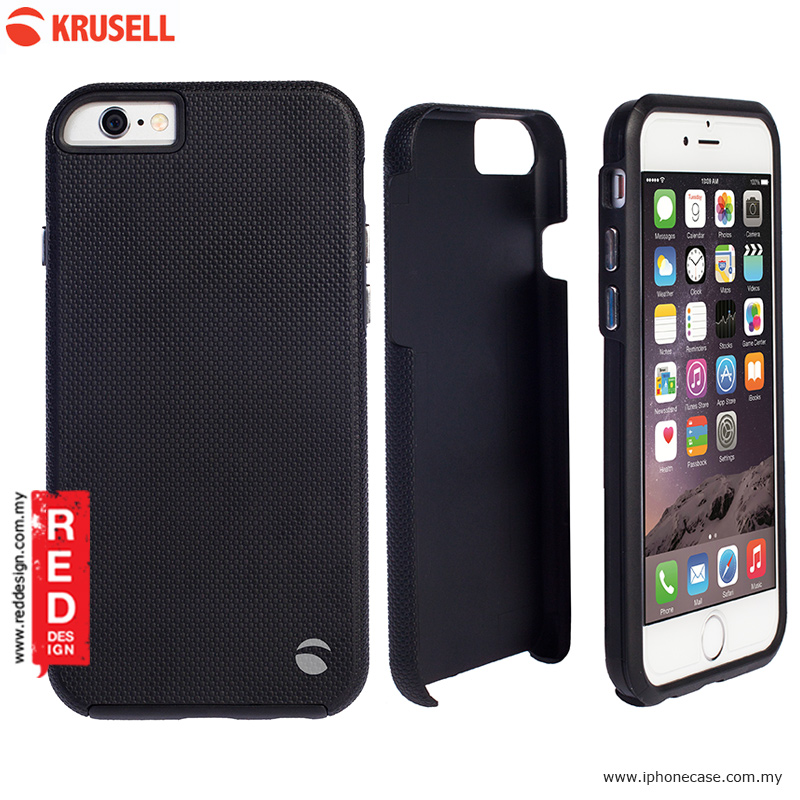 Picture of Krusell Mora Cover Back Cover Protection Case for iPhone 6 iPhone 6S 4.7 - Black Apple iPhone 6 4.7- Apple iPhone 6 4.7 Cases, Apple iPhone 6 4.7 Covers, iPad Cases and a wide selection of Apple iPhone 6 4.7 Accessories in Malaysia, Sabah, Sarawak and Singapore