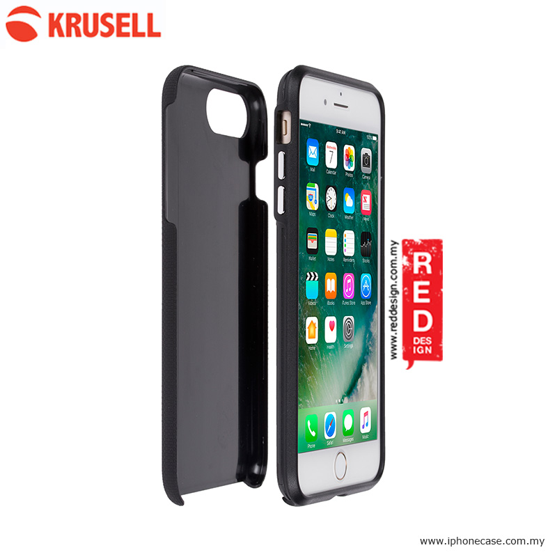 Picture of Krusell Mora Cover Back Cover Protection Case for Apple iPhone 7 Plus iPhone 8 Plus 5.5 - Black Apple iPhone 8 Plus- Apple iPhone 8 Plus Cases, Apple iPhone 8 Plus Covers, iPad Cases and a wide selection of Apple iPhone 8 Plus Accessories in Malaysia, Sabah, Sarawak and Singapore