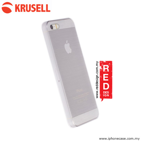 Picture of Apple iPhone 5 Case | Krusell Boden Cover Hard Case for iPhone SE iPhone 5S iPhone 5 - Clear