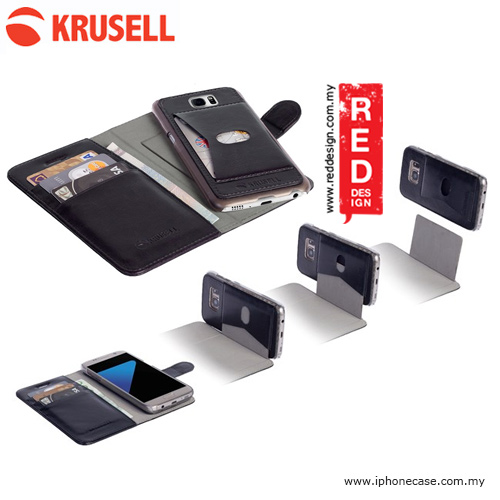 Picture of Krusell Ekero FolioWallet 2in1 Case for Samsung Galaxy S7 Edge - Black Samsung Galaxy S7 Edge- Samsung Galaxy S7 Edge Cases, Samsung Galaxy S7 Edge Covers, iPad Cases and a wide selection of Samsung Galaxy S7 Edge Accessories in Malaysia, Sabah, Sarawak and Singapore