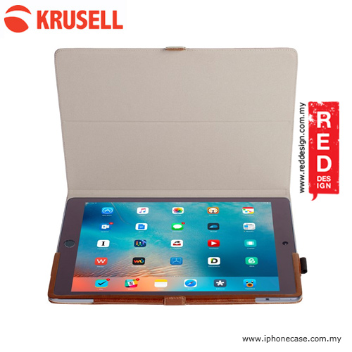 Picture of Apple iPad Air 2 Case | Krusell Ekero Stand Case for Apple iPad Pro 9.7 iPad Air 2 - Cognac