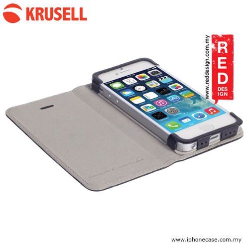 Picture of Krusell Kiruna Folio Genuine Leather Case for iPhone SE iPhone 5S iPhone 5 - Black Malaysia Singapore: Apple iPhone 5- Apple iPhone 5 Cases, Apple iPhone 5 Covers, iPad Cases and a wide selection of Apple iPhone 5 Accessories in Malaysia, Sabah, Sarawak and Singapore