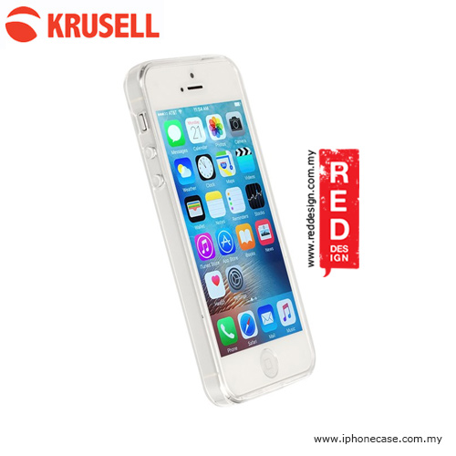 Picture of Apple iPhone 5 Case | Krusell Kivik Cover Soft Cover Case for iPhone SE iPhone 5S iPhone 5 - Clear