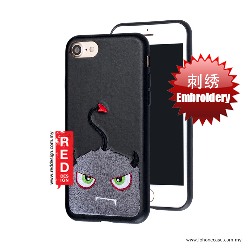 Picture of KSSDUN Embroidery Fashion Artwork Back Case for Apple iPhone 7 iPhone 8 4.7 - Grey Devil Apple iPhone 8- Apple iPhone 8 Cases, Apple iPhone 8 Covers, iPad Cases and a wide selection of Apple iPhone 8 Accessories in Malaysia, Sabah, Sarawak and Singapore