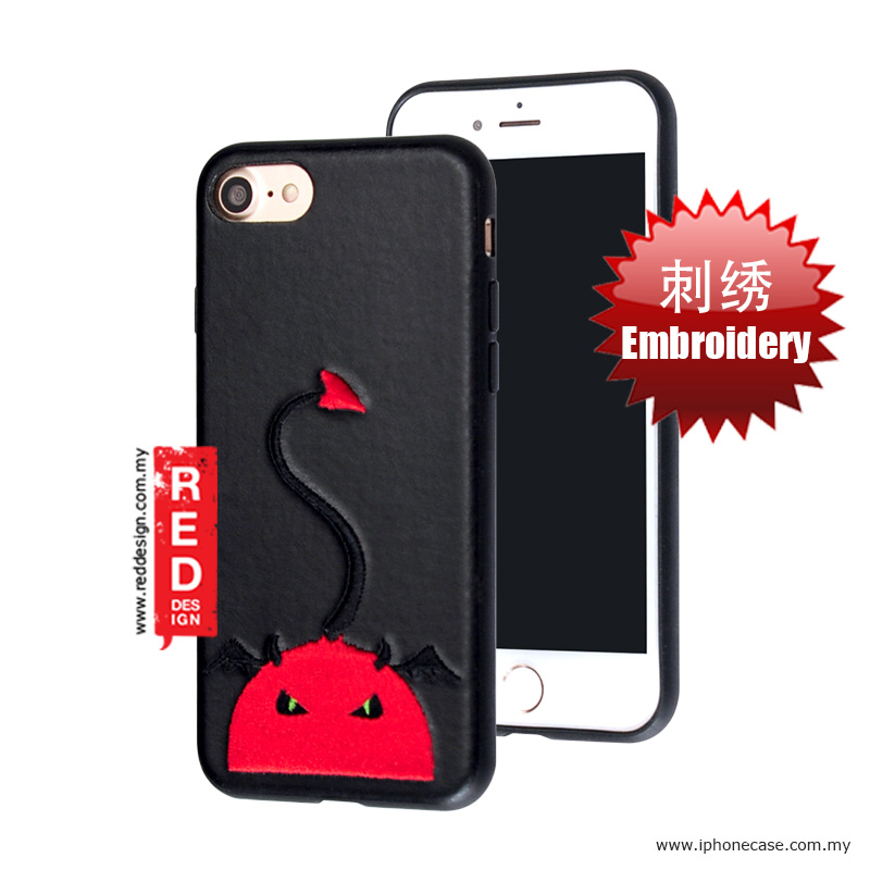 Picture of KSSDUN Embroidery Fashion Artwork Back Case for Apple iPhone 7 iPhone 8 4.7 - Red Devil Apple iPhone 8- Apple iPhone 8 Cases, Apple iPhone 8 Covers, iPad Cases and a wide selection of Apple iPhone 8 Accessories in Malaysia, Sabah, Sarawak and Singapore