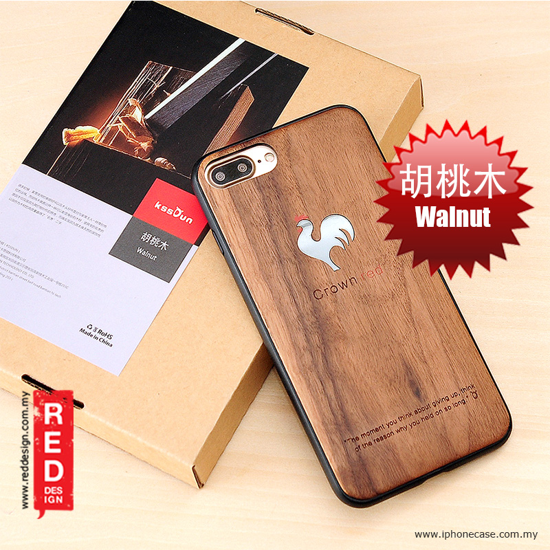 Picture of KSSDUN Walnut Wood Fashion Artwork Back Case for Apple iPhone 7 Plus iPhone 8 Plus 5.5 Apple iPhone 8 Plus- Apple iPhone 8 Plus Cases, Apple iPhone 8 Plus Covers, iPad Cases and a wide selection of Apple iPhone 8 Plus Accessories in Malaysia, Sabah, Sarawak and Singapore