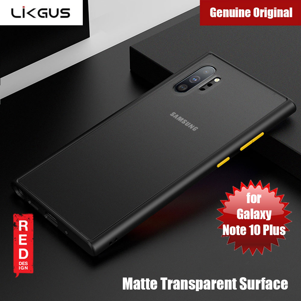 Picture of Likgus Matte Surface Protection Case for Samsung Galaxy Note 10 (Black) Samsung Galaxy Note 10- Samsung Galaxy Note 10 Cases, Samsung Galaxy Note 10 Covers, iPad Cases and a wide selection of Samsung Galaxy Note 10 Accessories in Malaysia, Sabah, Sarawak and Singapore