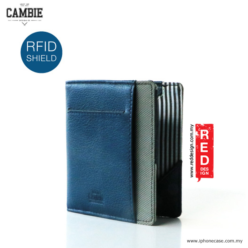 Picture of Loft of Cambie FLIP WOLYT Wallet Sleeve with RFID Protection - Sapphire Blue Red Design- Red Design Cases, Red Design Covers, iPad Cases and a wide selection of Red Design Accessories in Malaysia, Sabah, Sarawak and Singapore