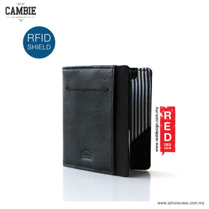 Picture of Loft of Cambie FLIP WOLYT Wallet Sleeve with RFID Protection - Stealth Black Red Design- Red Design Cases, Red Design Covers, iPad Cases and a wide selection of Red Design Accessories in Malaysia, Sabah, Sarawak and Singapore
