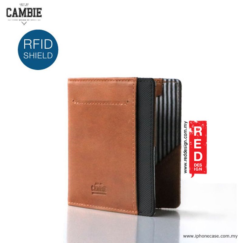 Picture of Loft of Cambie FLIP WOLYT Wallet Sleeve with RFID Protection - Tan Black