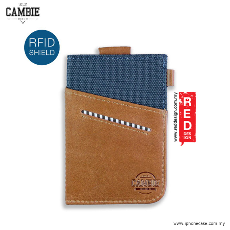 Picture of Loft of Cambie WOLYT Sleeve Classic Wallet Sleeve - Cobalt Brown with RFID Protection Red Design- Red Design Cases, Red Design Covers, iPad Cases and a wide selection of Red Design Accessories in Malaysia, Sabah, Sarawak and Singapore