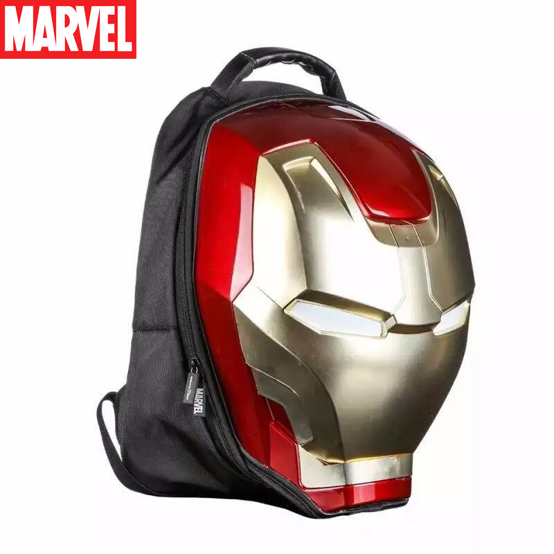 Picture of Marvel 3D Iron Man Backpacks Casual Daypacks with Light