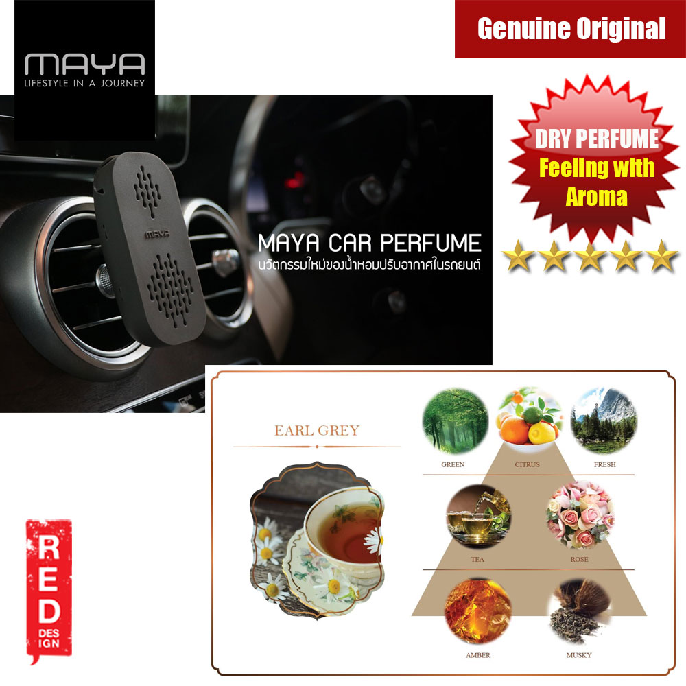 Picture of Maya Premium Car Perfume Innovation Dry Perfume Car Air Freshener  with Aroma Fragrance (Earl Grey) Red Design- Red Design Cases, Red Design Covers, iPad Cases and a wide selection of Red Design Accessories in Malaysia, Sabah, Sarawak and Singapore