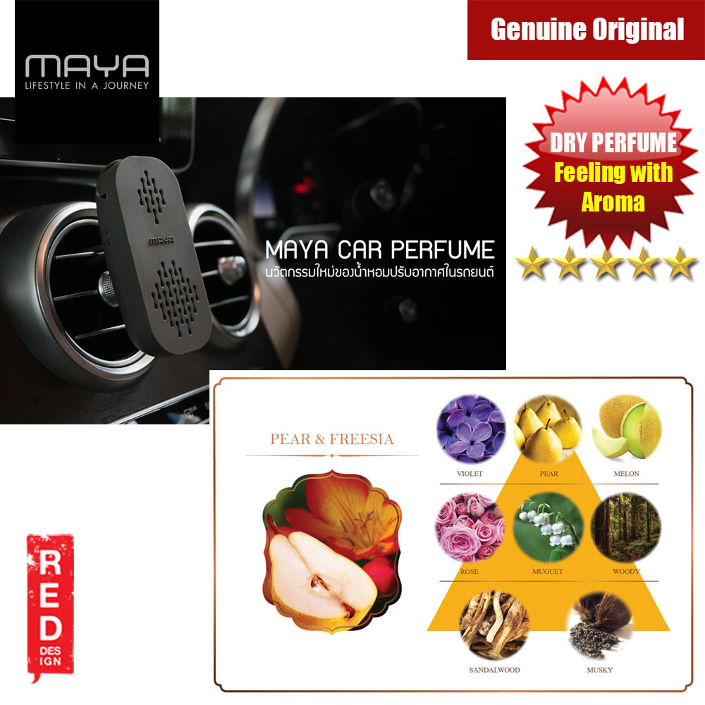 Picture of Maya Premium Car Perfume Innovation Dry Perfume Car Air Freshener  with Aroma Fragrance (Pear and Freesia) Red Design- Red Design Cases, Red Design Covers, iPad Cases and a wide selection of Red Design Accessories in Malaysia, Sabah, Sarawak and Singapore