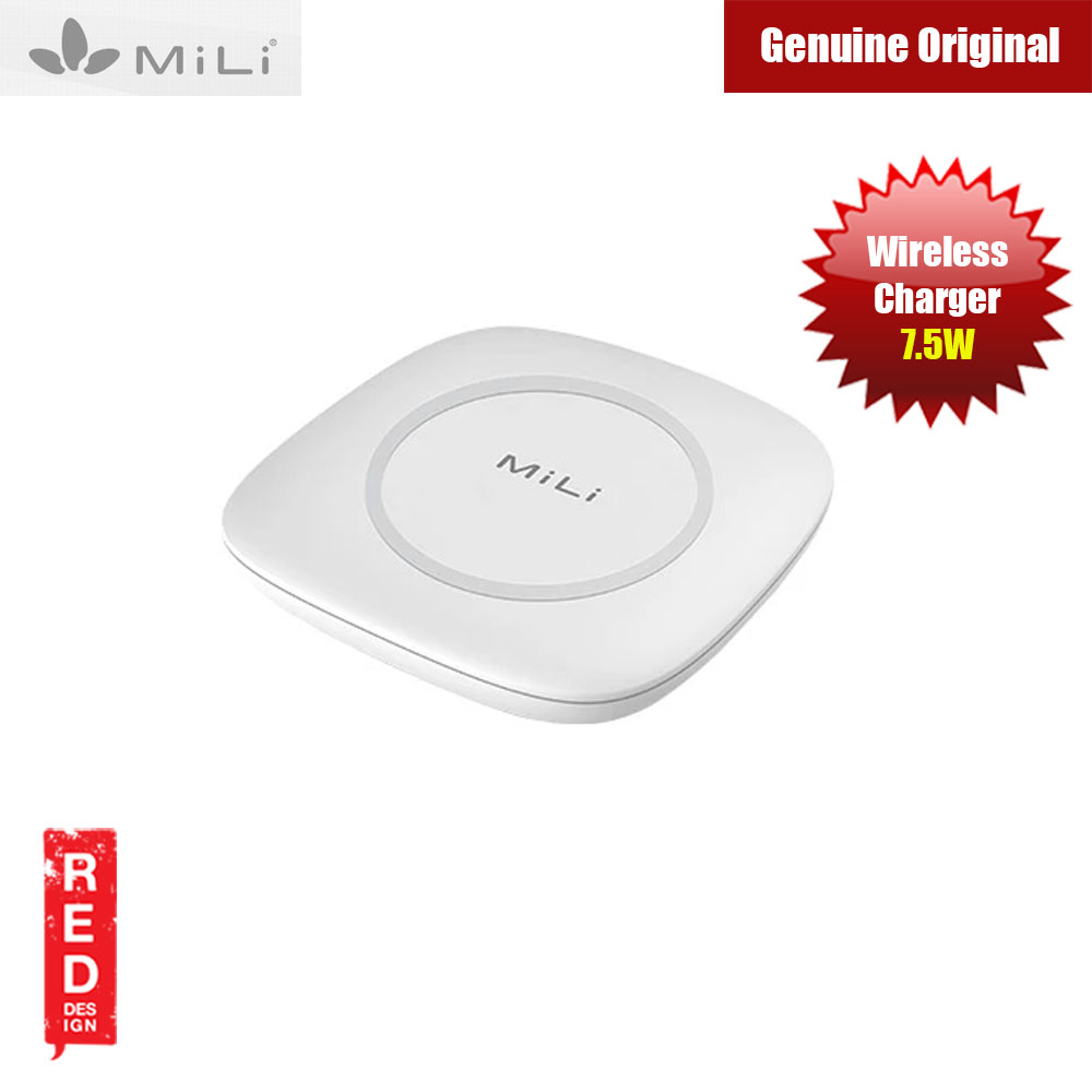 Picture of MiLi Magicplus Wireless Charger 7.5W  for iPhone Red Design- Red Design Cases, Red Design Covers, iPad Cases and a wide selection of Red Design Accessories in Malaysia, Sabah, Sarawak and Singapore