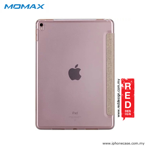 Picture of Apple iPad Pro 9.7 Case | Momax Flip Cover Multi Foldable Standable Cover Case for iPad Pro 9.7 - Champagne Gold