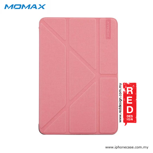 Picture of Apple iPad Pro 9.7 Case | Momax Flip Cover Multi Foldable Standable Cover Case for iPad Pro 9.7 - Pink