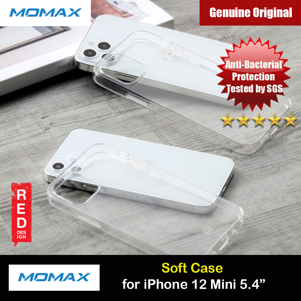 Picture of Momax Yolk Slim Soft Protection Case for iPhone 12 Mini 5.4 (Clear) Apple iPhone 12 mini 5.4- Apple iPhone 12 mini 5.4 Cases, Apple iPhone 12 mini 5.4 Covers, iPad Cases and a wide selection of Apple iPhone 12 mini 5.4 Accessories in Malaysia, Sabah, Sarawak and Singapore